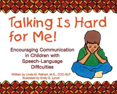 Talking Is Hard for Me! (Paperback) - image 1 of 1