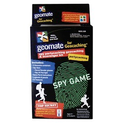 Brand 44 Geomate Spy Partycaching Geocaching and Scavenger Kit