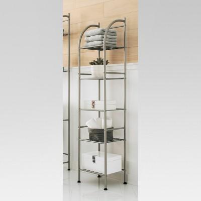 Metal Towel Tower Brushed Nickel - Threshold™