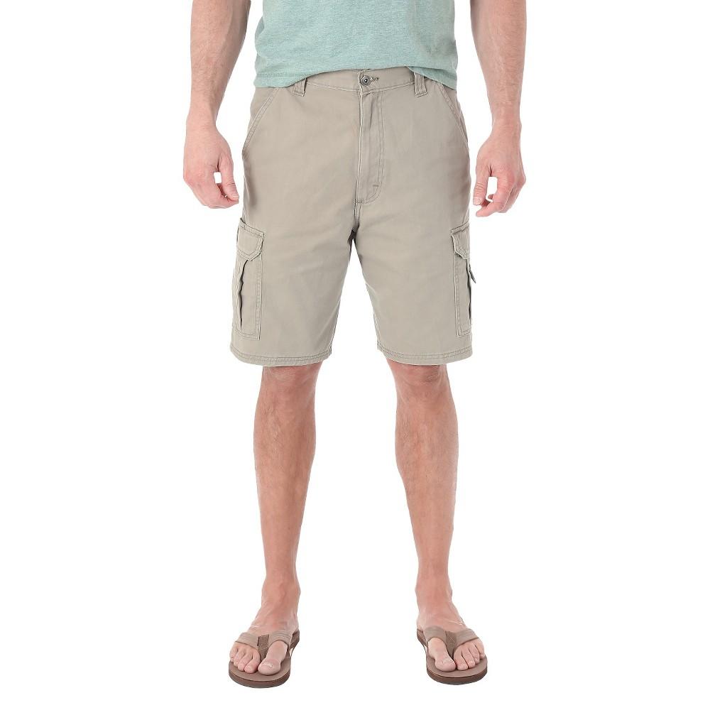 Wrangler Mens Cargo Shorts - Dark Khaki (Green) 30