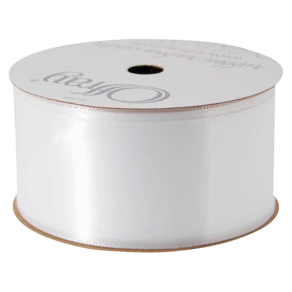 Decorative Ribbon - Spritz, White