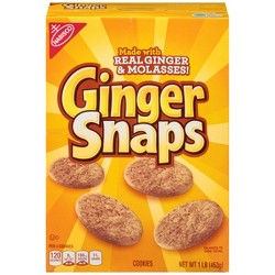 Nabisco Ginger Snaps Cookies - 16oz
