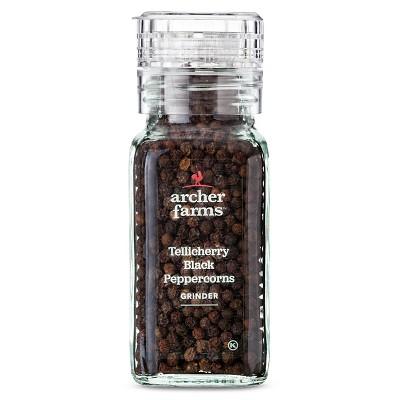 Black Peppercorns Grinder 3.4oz - Archer Farms™