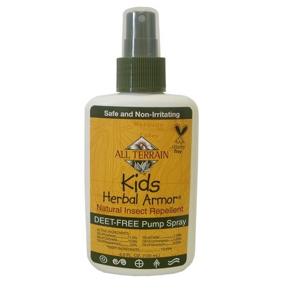 4oz Kids DEET Free Pump Spray - Herbal Armor