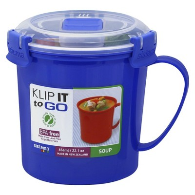 Soup Mug To Go 22 OZ