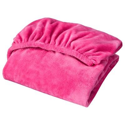 Circo™ Plush Sheet - Hot Pink