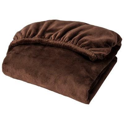 Circo™ Plush Sheet - Brown