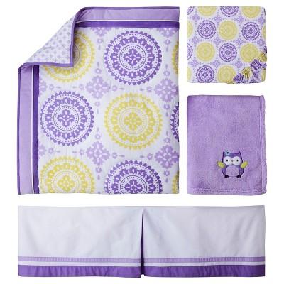 Circo™ 4pc Crib Bedding Set - Purple Medallion