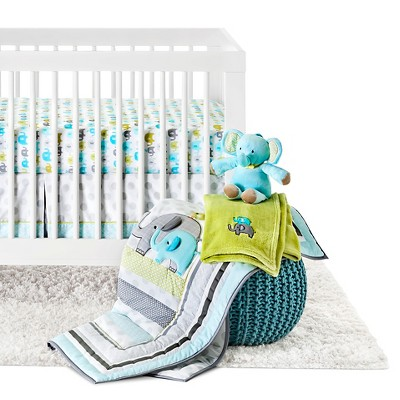 Circo™ 4pc Crib Bedding Set - Trunks of Love