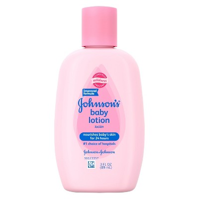Johnson's Baby Pink Baby Lotion 3 fl oz