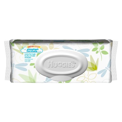 Huggies Natural Care Baby Wipes 56 ct