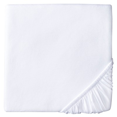 Circo™ Knit Fitted Crib Sheet - White