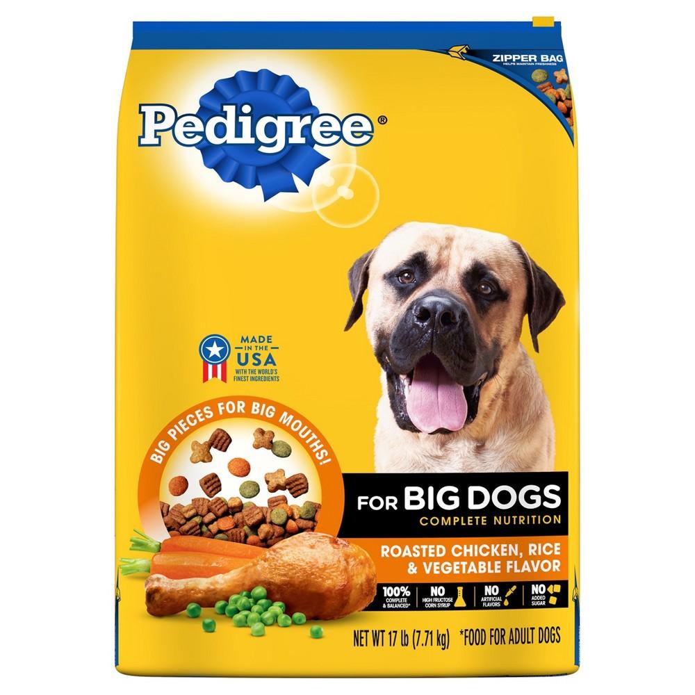 Pedigree Adult Large Dog Targeted Nutrition (Chicken) - Dry Dog Food - 17lb Bag,  Burmese Beige - Dnu