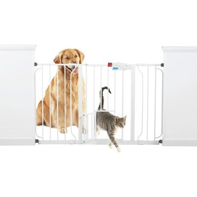 Walk Through Dog Gate - Extra Wide - White - Boots & Barkley™