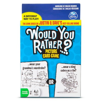 Would You Rather Card Game