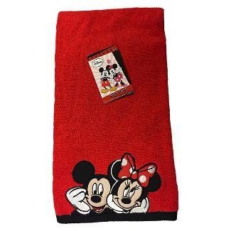 micky minnie towels disney