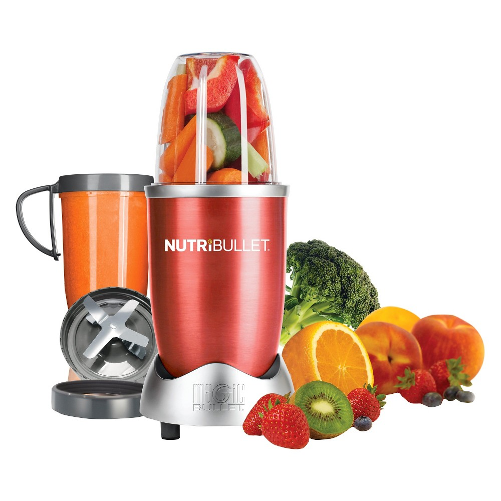 NutriBullet by Magic Bullet 8pc - Red