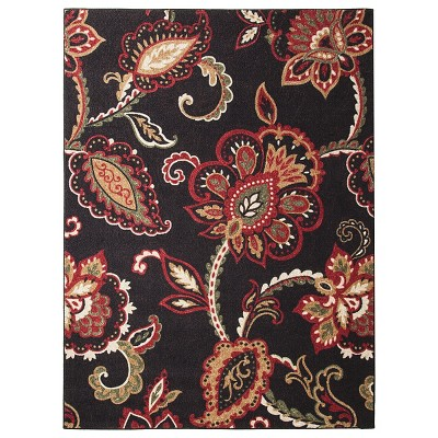 Charming Maples Rugs Exploded Floral Accent Rug : Target