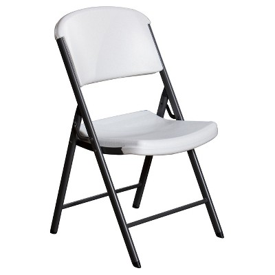 Lifetime Heavy Duty Folding Chair - White Granite