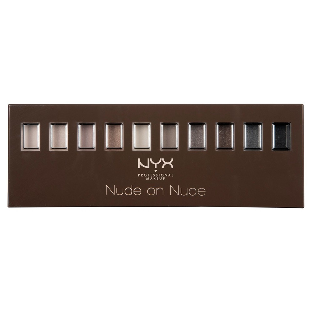 Nyx Professional Makeup Nude On Nude Palette Makeup Set, Multicolor - Dnu