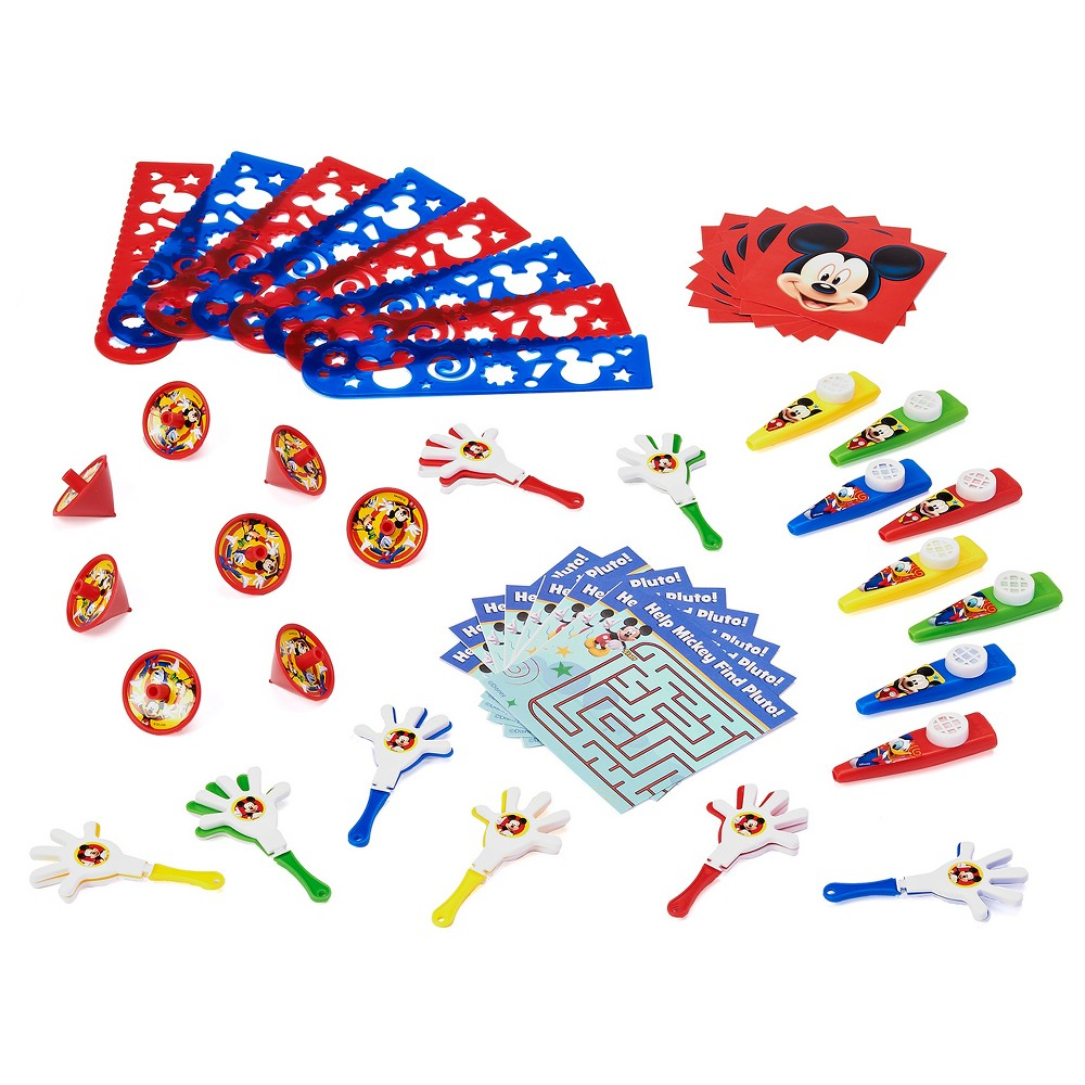 48 ct Mickey Mouse Party Favor Value Pack
