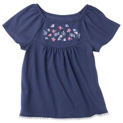Genuine Kids from OshKosh ™ Infant Toddler Girls' Short-sleeve Tunic - Dewberry 24 M