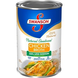 Swanson® Natural Goodness™ 100% Natural Low Sodium Chicken Broth 14.5 oz