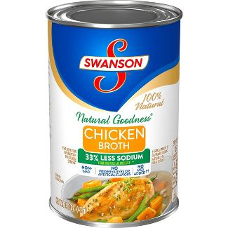 Swanson Natural Goodness Chicken Broth Can - 14.5 fl oz