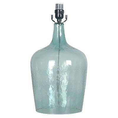 Threshold™ Artisan Glass Jug Lamp Base Large - Ancient Aqua