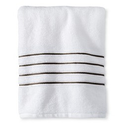 Luxury Stripe Accent Bath Towels - Fieldcrest™