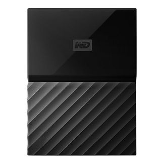 WD 1TB My Passport Portable External Hard Drive, Black - WDBYFT0010BBK-WESN