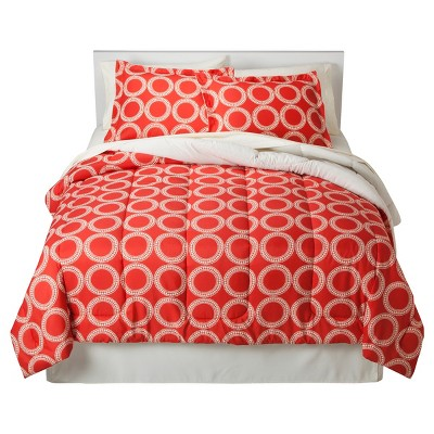 Orange Global Geometric Bed In A Bag (Queen)- Room Essentials™