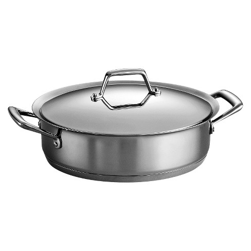 Tramontina Gourmet Prima 5 Quart Tri-Ply Base Covered Casserole - image 1 of 2