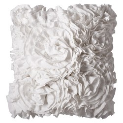 Jersey Ruffle Throw Pillow - Xhilaration™