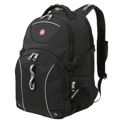 SwissGear 20  Scansmart TSA Laptop Backpack Black
