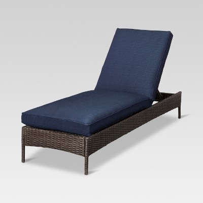 Beautiful Belvedere Wicker Patio Chaise Lounge   Threshold™