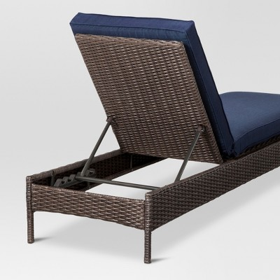 Beautiful Belvedere Wicker Patio Chaise Lounge   Threshold™ : Target