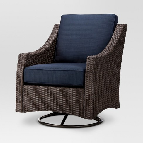 target swivel chair belvedere wicker patio swivel club chair threshold target 2674
