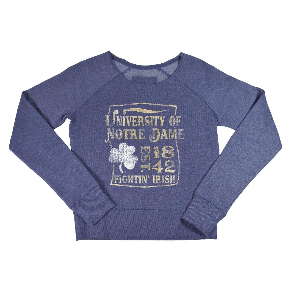 NCAA Kids Notre Dame Fleece   Grey (XL)