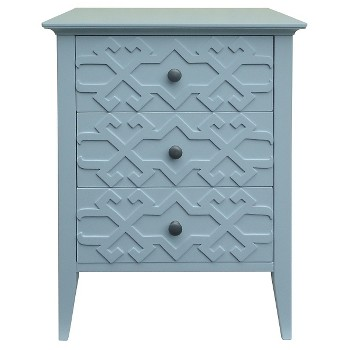 Threshold Fretwork Accent Table
