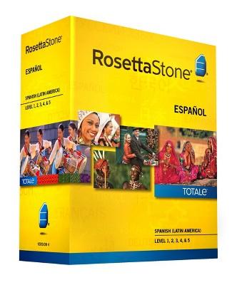 Rosetta Stone Spanish (Latin America)v4 TOTALe - Level 1, 2, 3, 4 & 5 Set - Learn Spanish