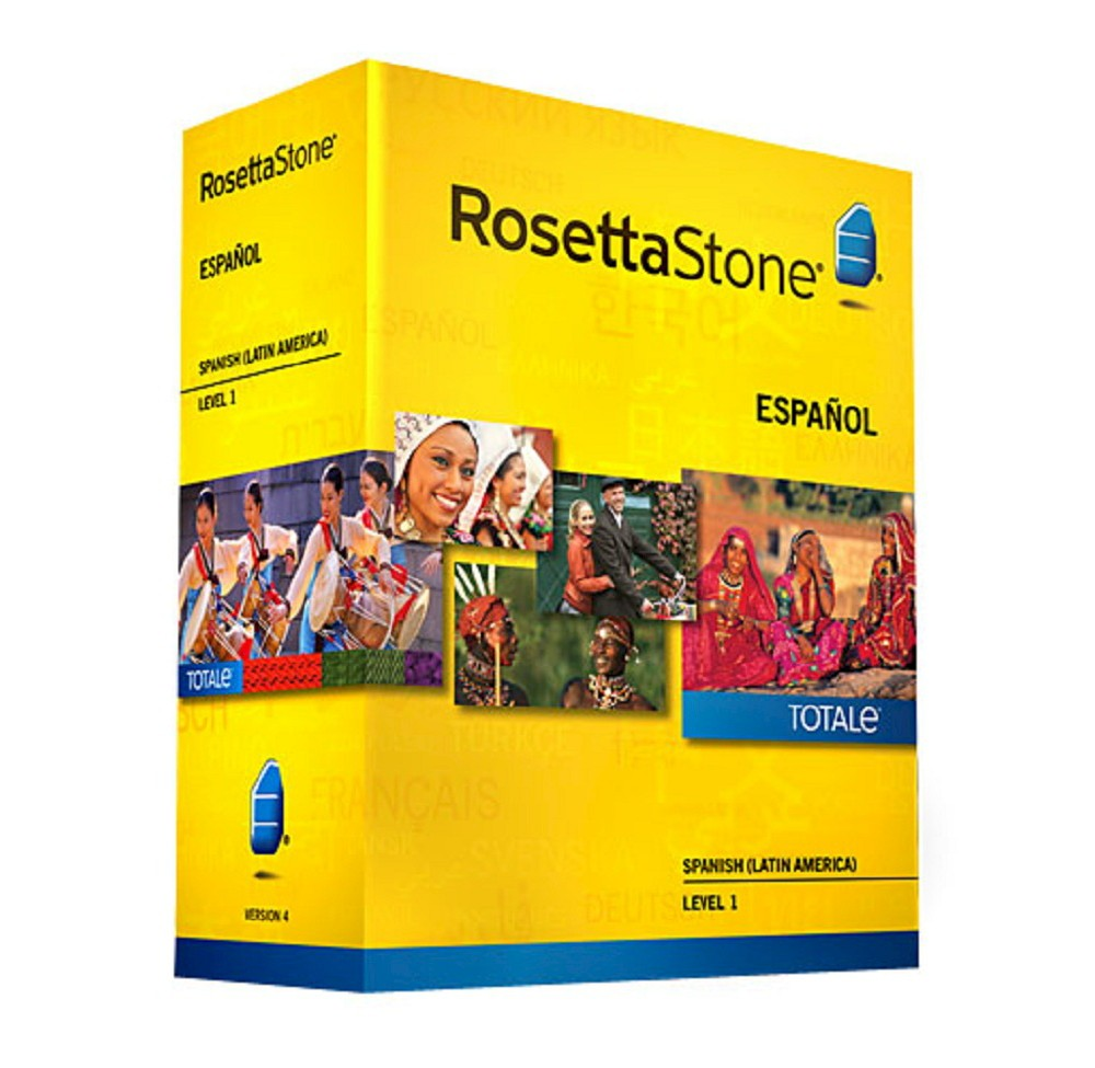 Rosetta Stone Spanish (Latin America) v4 TOTALe - Level 1...