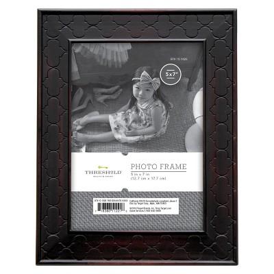 5 x7  Rubbed Bronze Frame Black - Threshold™