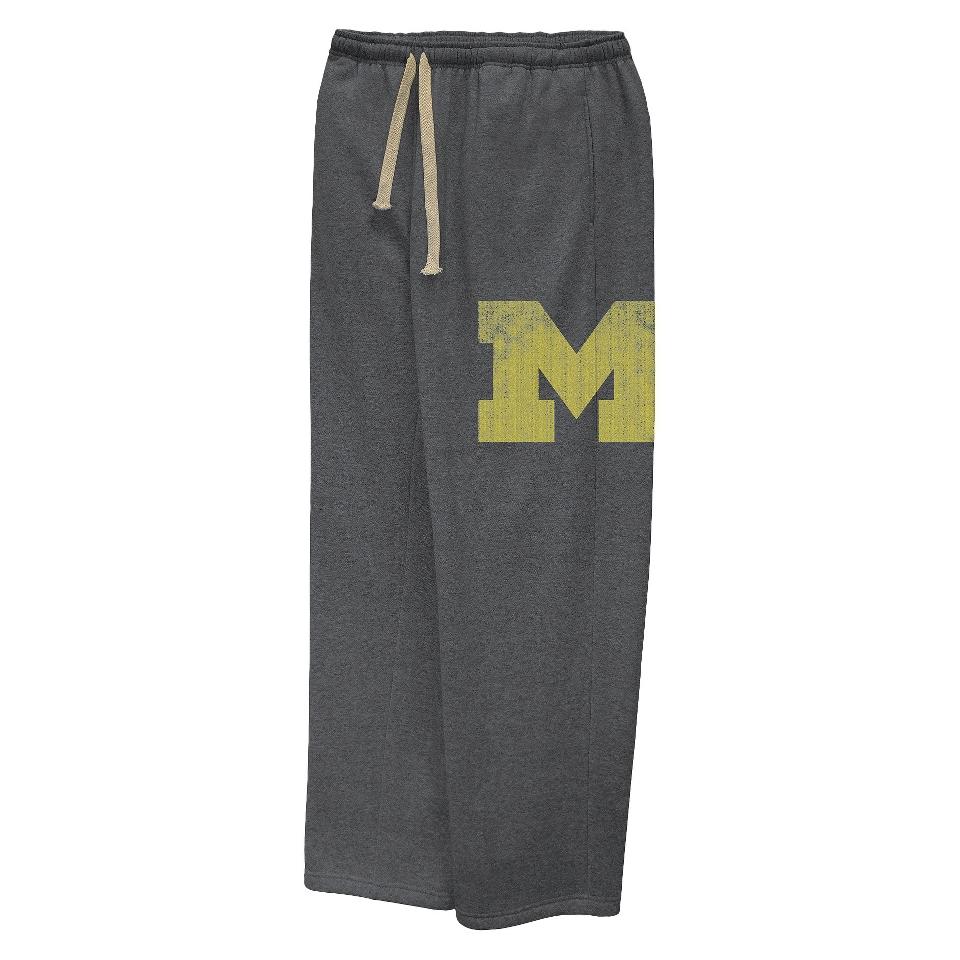 NCAA Mens Michigan Pants   Grey (XXL)
