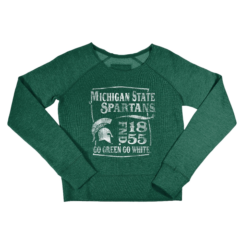NCAA Kids Michigan State Fleece   Green (S)