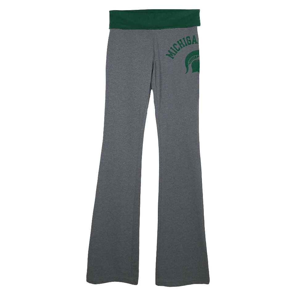 NCAA Womens Michigan State Pants   Grey (L)