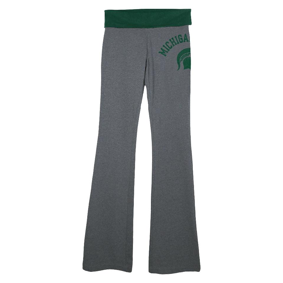 NCAA Womens Michigan State Pants   Grey (XL)