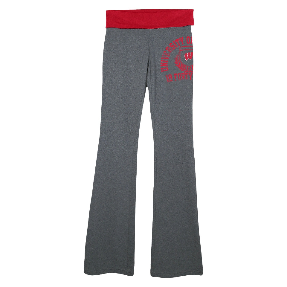 NCAA Womens Wisconsin Pants   Grey (M)