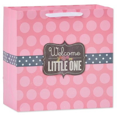 Pink Welcome Little One Gift Bag - Spritz™