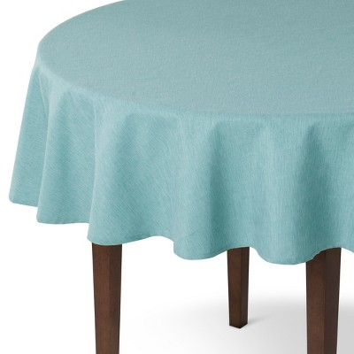 Solid Tablecloth Round Blue (70 )- Threshold™ - Threshold™
